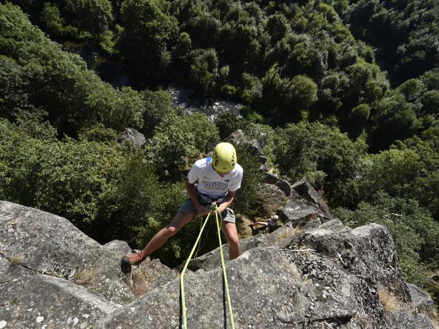 Canyon des Toyères - Escalade
