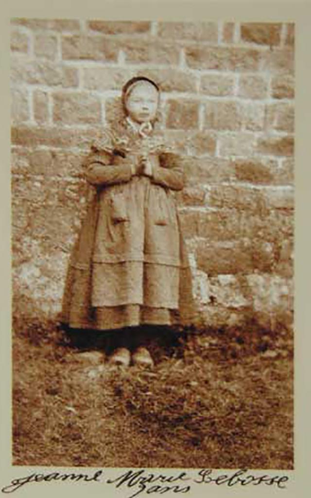 Jeanne Marie Lebosse 9 Ans