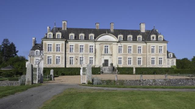 Château de Magnanne à Ménil