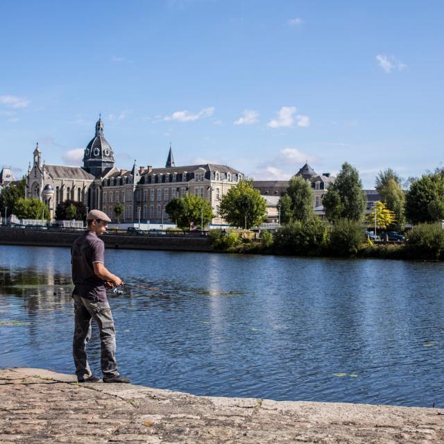 Pêche à la ligne - Château-Gontier-sur-Mayenne