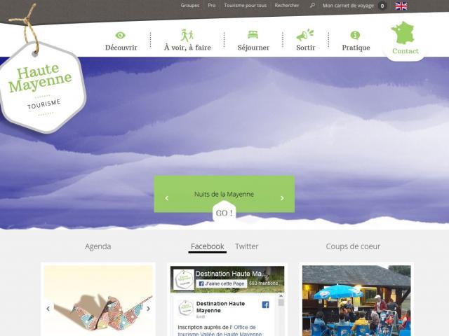 Site web de la Haute Mayenne