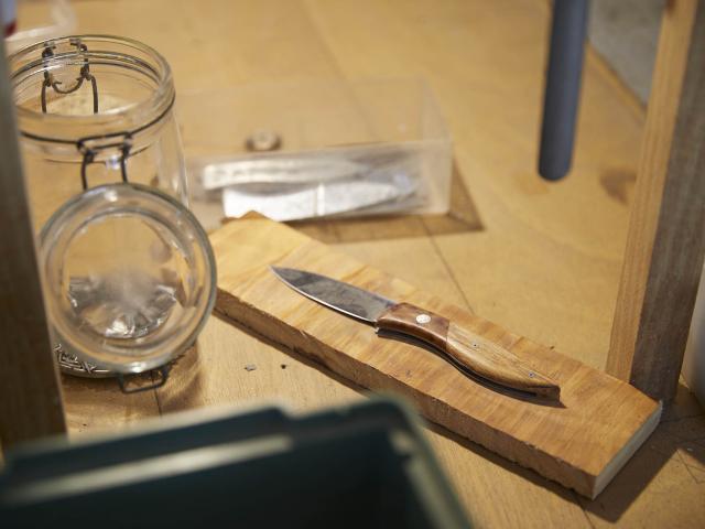 Stage Fabriquer son Couteau - Coutellerie du Maine Anjou - Couteau