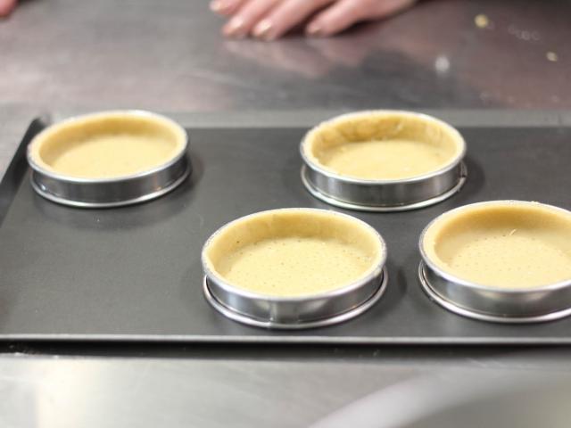 Atelier Cuisine Restaurant Le Beyel à Origné - fond de tarte