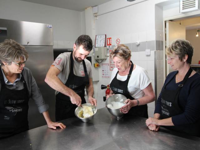 Atelier Cuisine Restaurant Le Beyel à Origné - soufflet