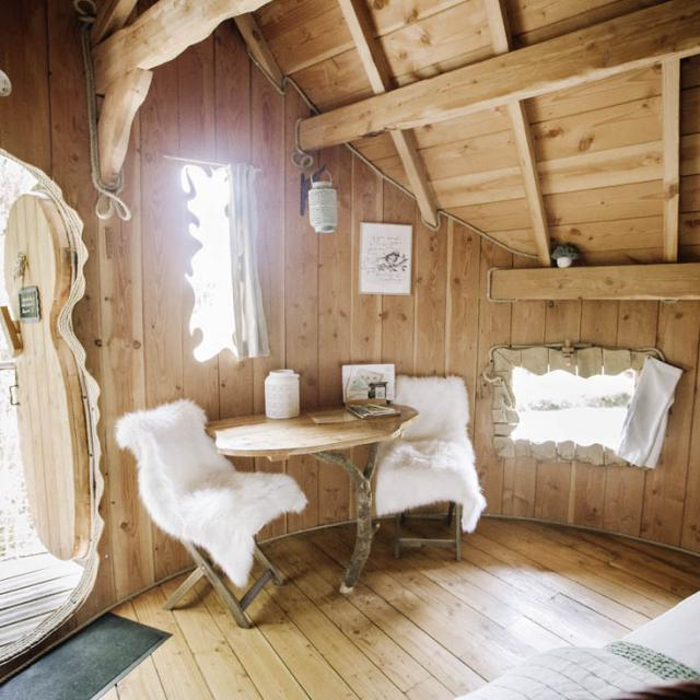 Chouette Cabane - Interieur