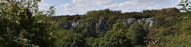Canyon de Saulges