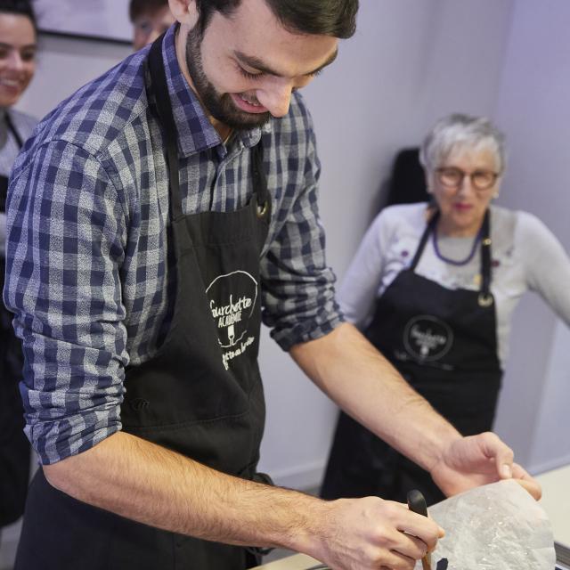 Fourchette Academie - atelier cuisine - carottes glacees