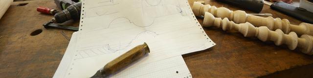 Herve Wales - Ebeniste - Atelier de l'abbaye - outils