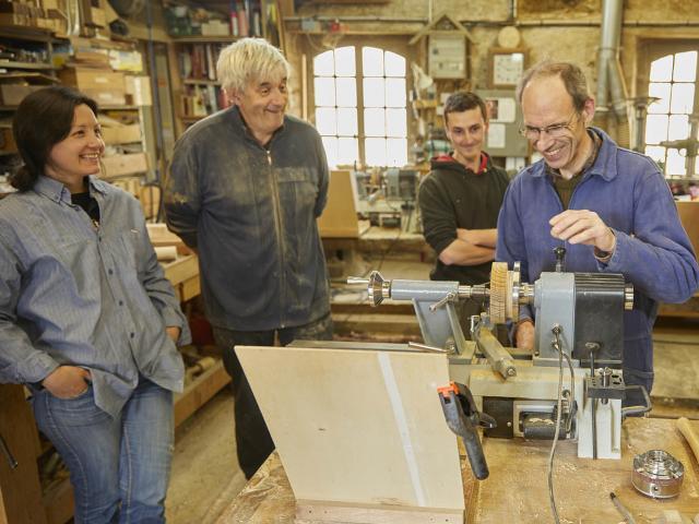 Atelier de l'abbaye - Stage Tournage sur bois