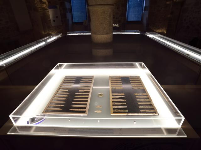 Jeu de Tric Trac - Musée de Mayenne