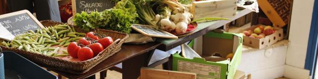 Le Comptoir - Pre en Pail - Legumes