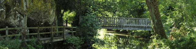Riviere De L Erve Saulges Pont Vallee Des Grottes