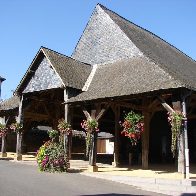 Les Halles - Saint Denis D Anjou