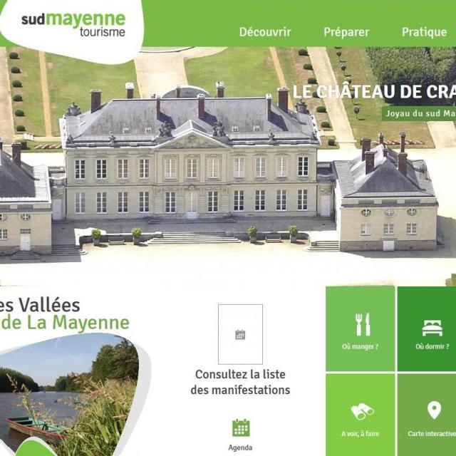 Site internet Pays Du Sud Mayenne