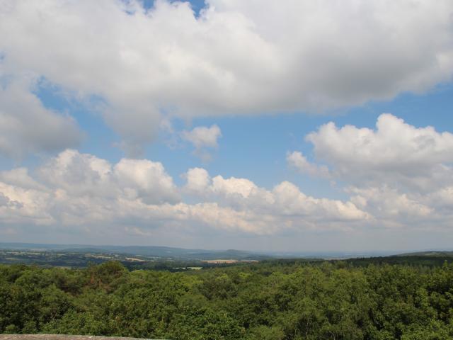 Vue du belvédère - Mont des Avaloirs