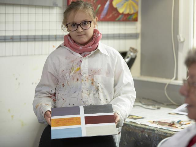 Atelier Peindre la Vie du Bon Côté Art'PeinTube - planche de peinture