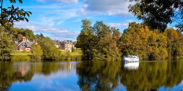 Rivère la Mayenne - Houssay
