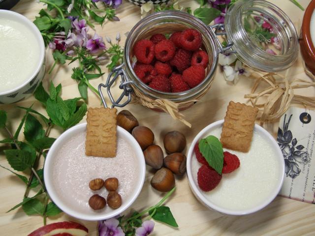 Creme Biscuit Framboise Atelier Cuisine Saveur Et Bien Etre Fourchette Academie