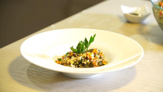 Taboulé de quinoa aux saveurs automnales - Fourchette Académie