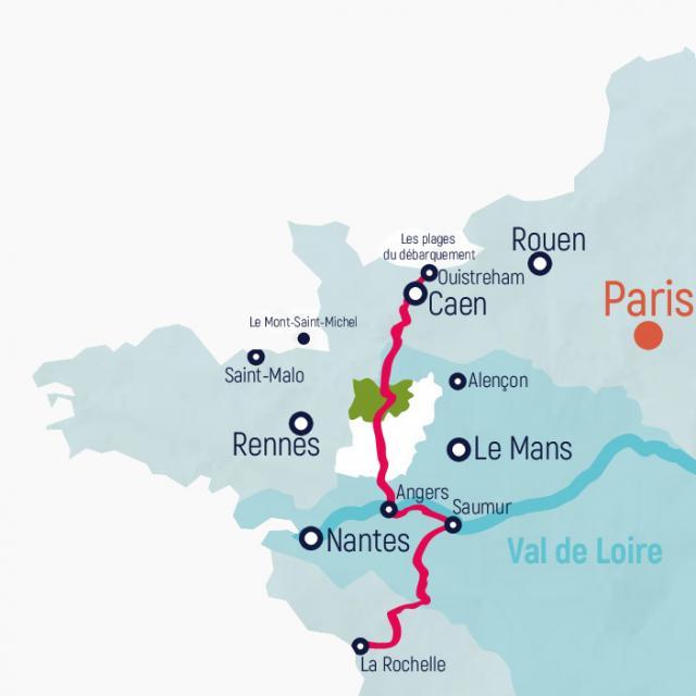Carte Haute Mayenne
