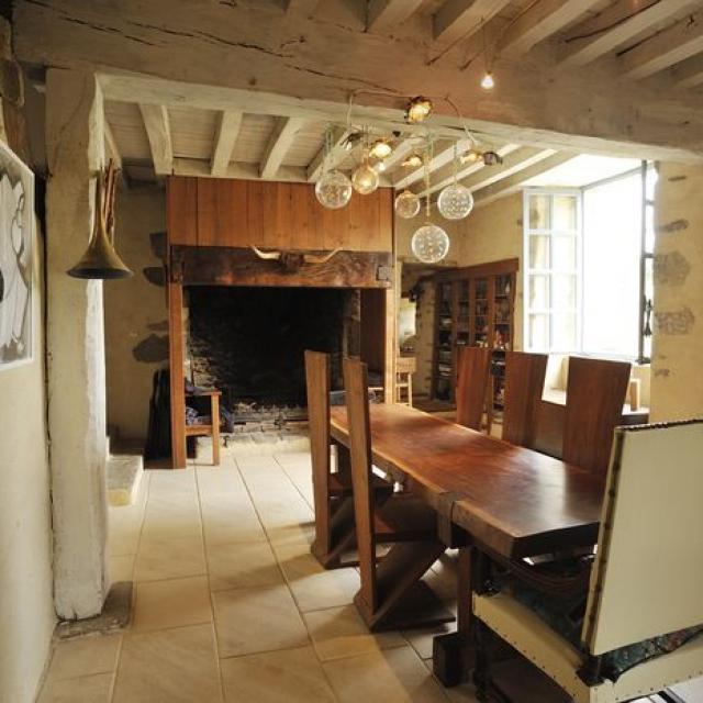 Chambres D'hôtes Château De La Chasse Guerre à Hardanges