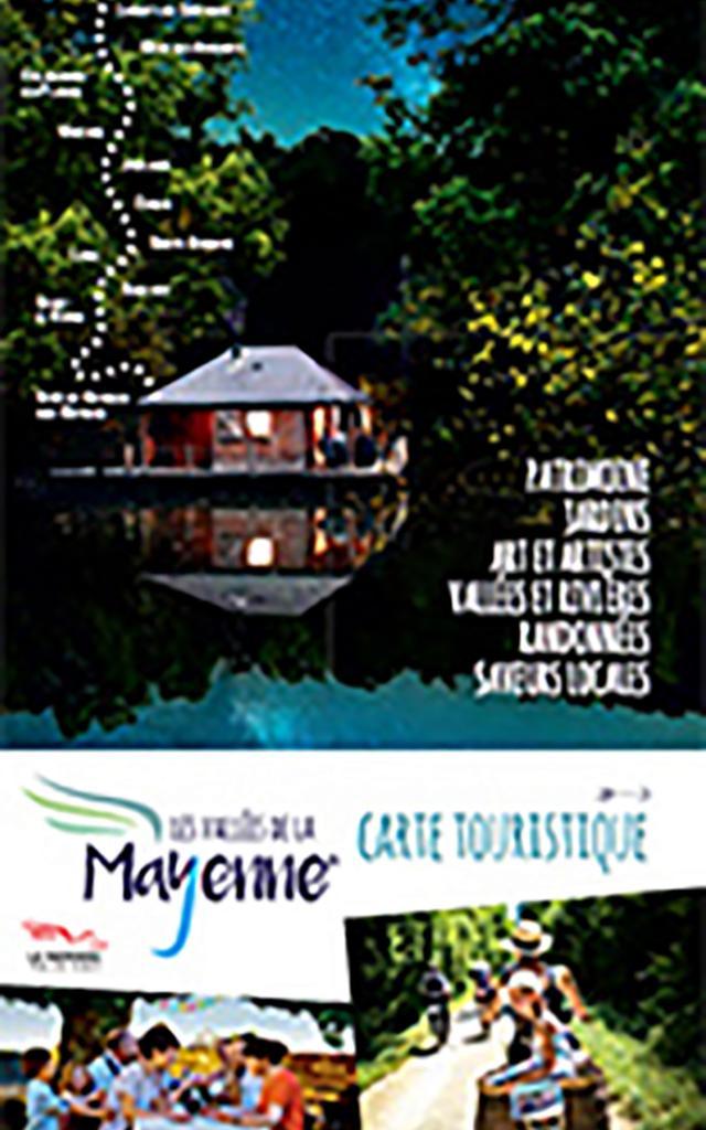 Carte Touristique Mayenne